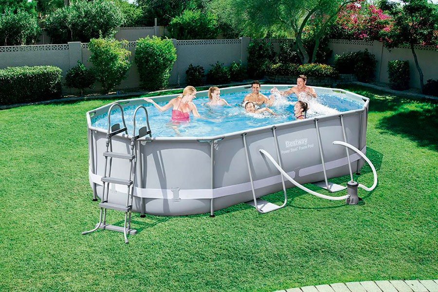 Piscina Bestway Oval Frame 488x305x107 Outlet Piscinas